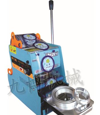 半自动豆浆封杯机