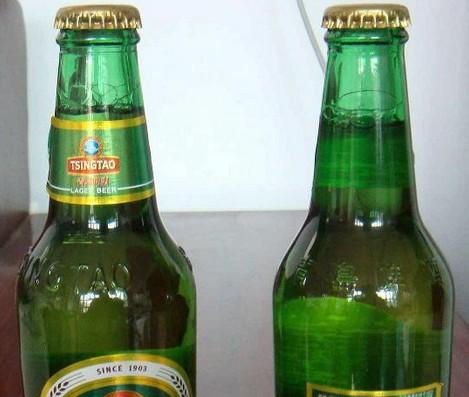 啤酒压盖效果
