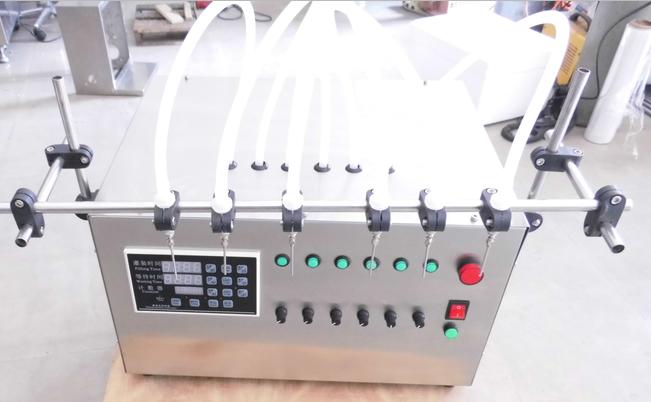 半自动齿轮泵灌装机